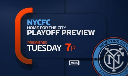 PLAYOFF PREVIEW: YES Network to telecast NYCFC postseason show Tuesday