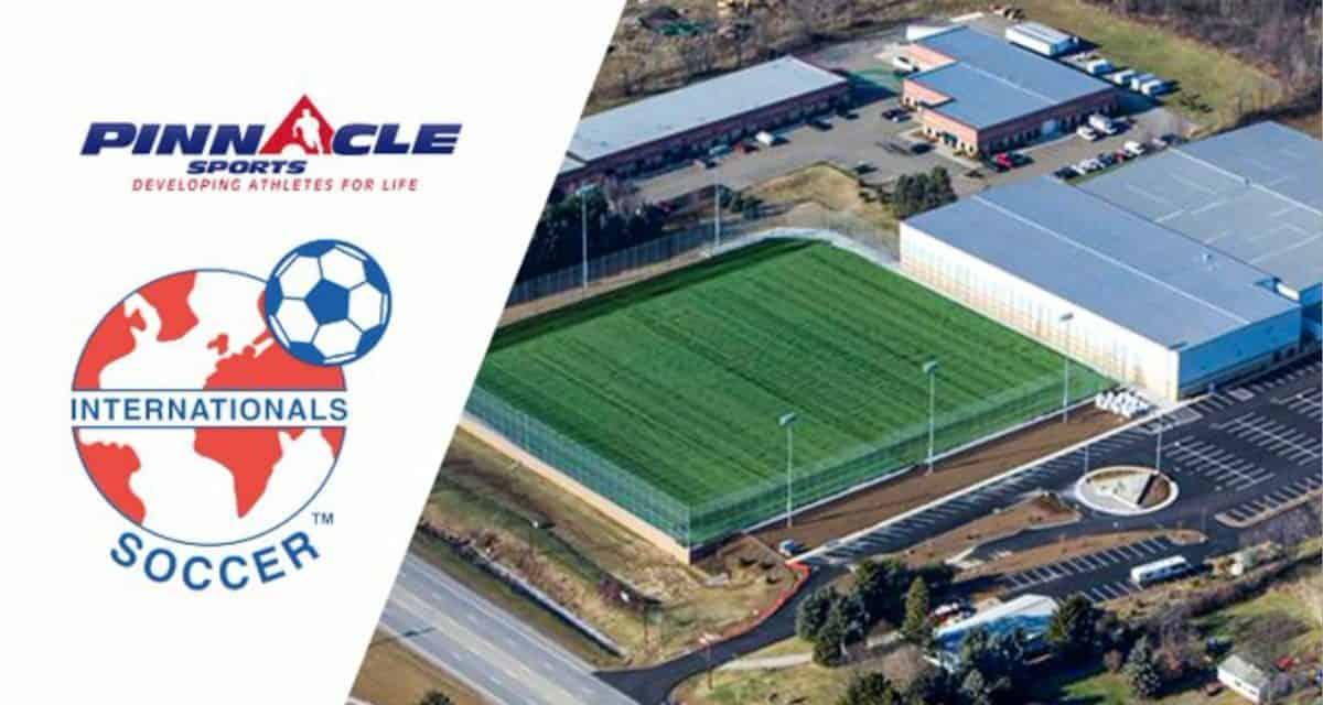 REACHING THE PINNACLE: Internationals Soccer Club acquires Pinnacle Sports
