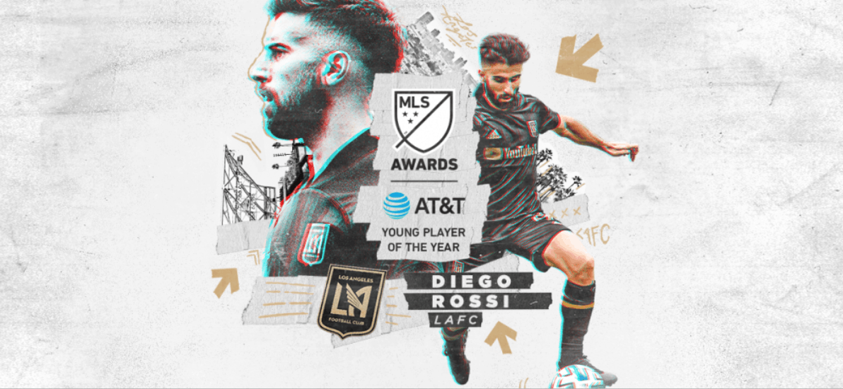 YOUNG PLAYER OF THE YEAR: MLS honors LAFC forward Rossi