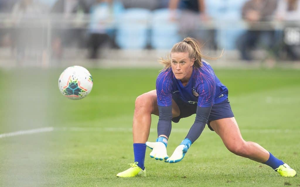 SHORTLISTED: USWNT's Naeher finalist for best FIFA women's goalkeeper