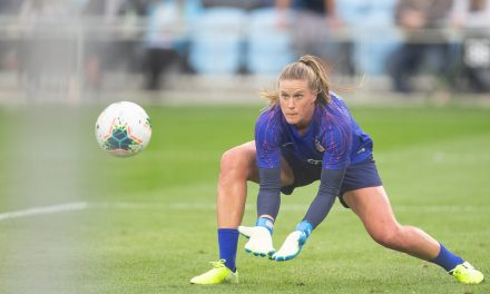 SHORT-LISTED: USWNT's Naeher in the running for Best FIFA women's goalkeeper