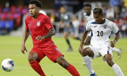 GO WESTON, YOUNG MAN: McKennie assists on Juve's 1st goal in win