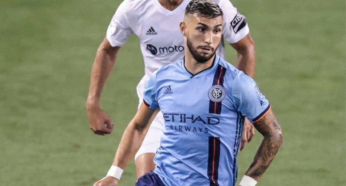 HAT-TRICK HERO: Castellanos lifts NYCFC to emphatic 5-2 win over Red Bulls in Hudson River Derby