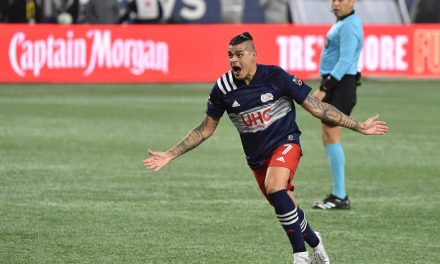 NO STOPPING HIM IN STOPPAGE TIME: Bou's dramatic winner boosts Revs over Impact