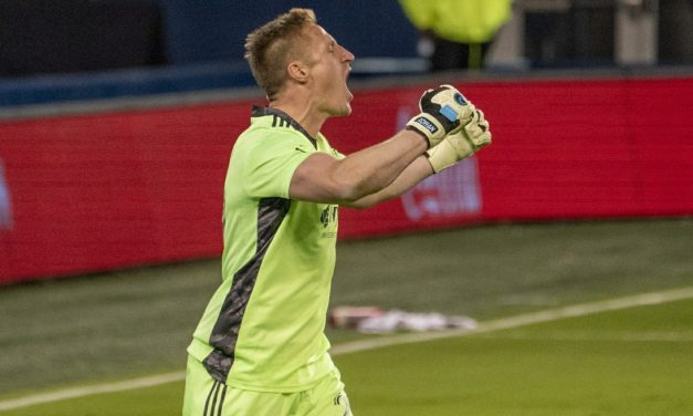 THE BIG 3-0: Melia saves three consecutive shootout attempts to boost Sporting KC into conference semifinals