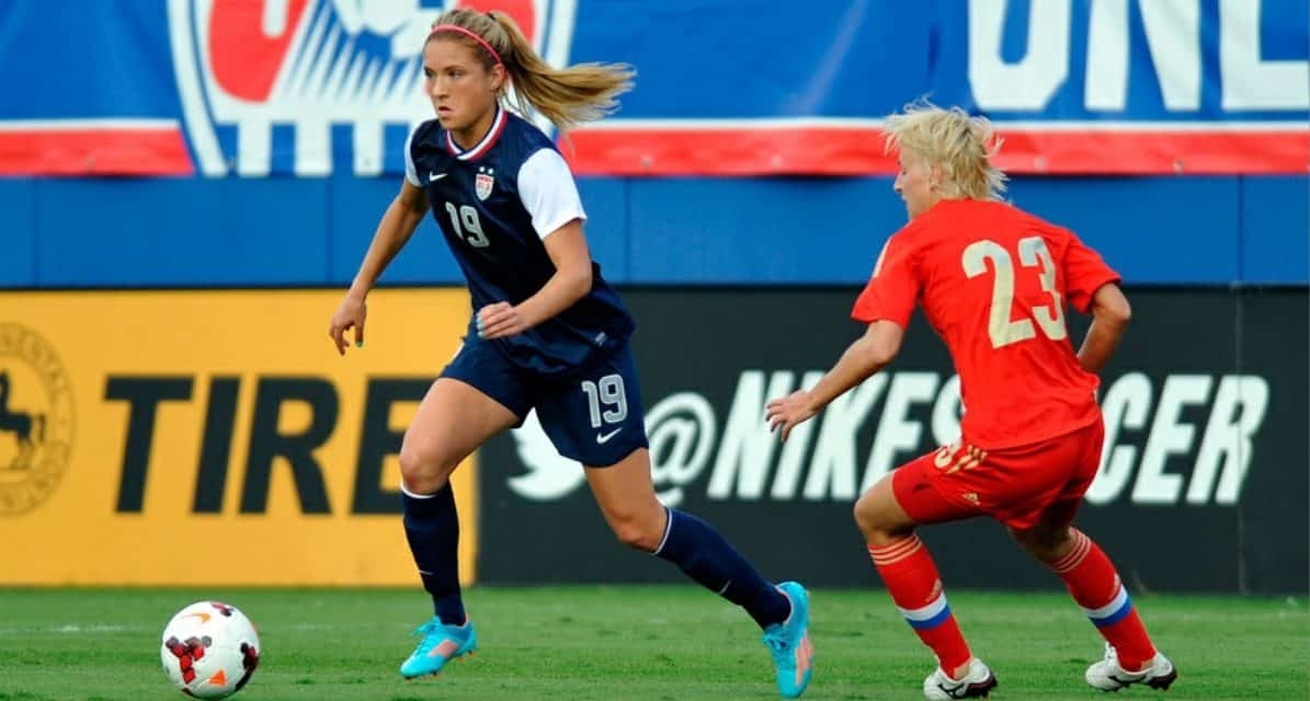 THE LONG AND SHORT OF IT: 2,722 days after scoring 1st USWNT goal, Kristie Mewis needs only 10 minutes for No. 2