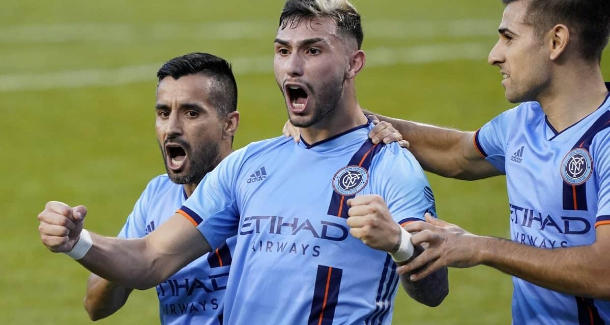 TATY TO THE RESCUE: Castellanos' 2nd goal powers NYCFC to 1st preseason win