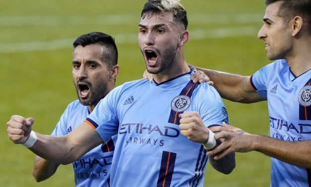 MR. OCTOBER, MR. NOVEMBER: NYCFC Castellanos named MLS player of the month(s)
