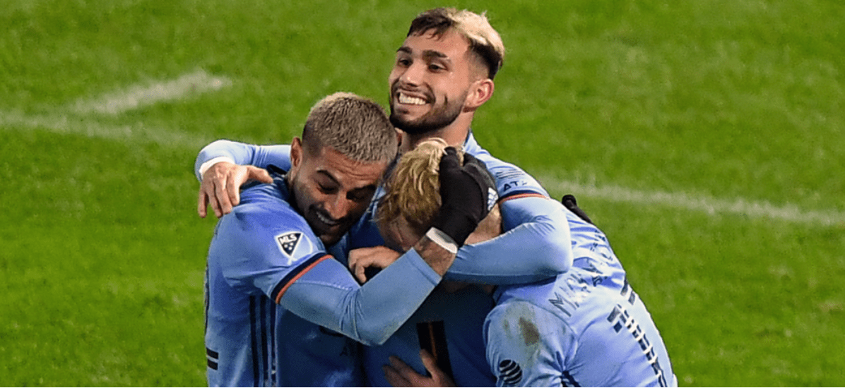 IT WAS VALENTIN'S NIGHT AND WEEK: NYCFC's Castellanos named MLS player of the week