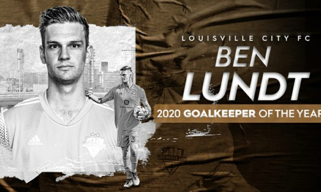 THE MAN WITH THE GOLDEN GLOVE: LouCity FC's Lundt named USL Championship's top GK