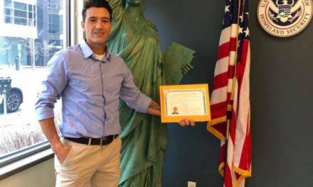 CALL HIM CITIZEN MOREIRA: Lancers assistant coach-goalkeeper earns U.S. citizenship