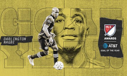 TWO FOR THE CREW: Nagbe scores MLS goal of the year, Room makes league's top save