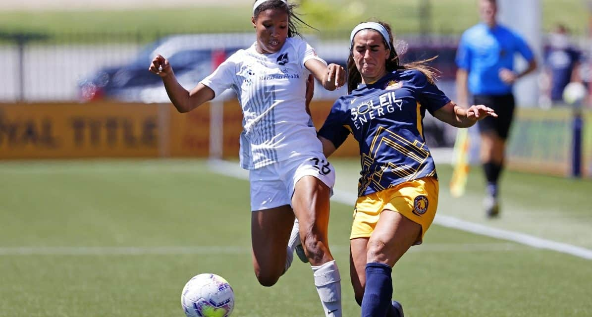 FOR THE DEFENSE: Sky Blue FC's Purce called into USWNT