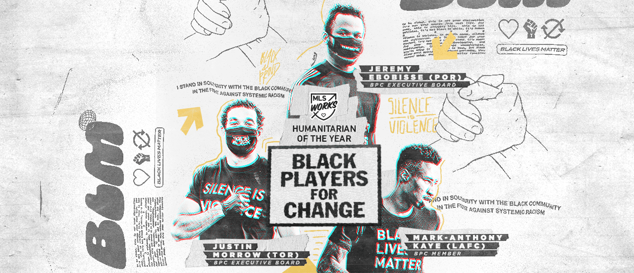 HUMANITARIAN OF THE YEAR: MLS honors Black Players for Change