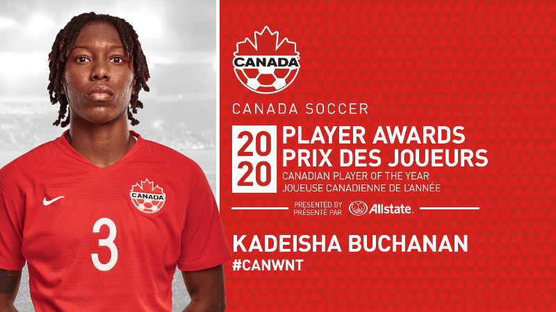 TOP HONORS: Buchanan named Canada's women's player of the year