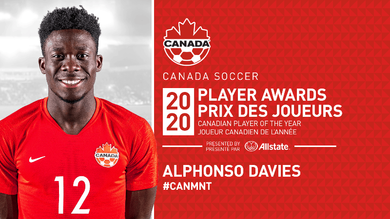 TOP HONORS: Davies named Canadian men's player of the year