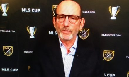 LOOKING AHEAD: Garber says league cannot take another hit as it did in 2020