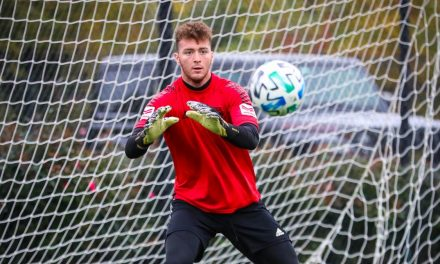 MOVING ON UP: Red Bulls sign NYRBII GK Lewis