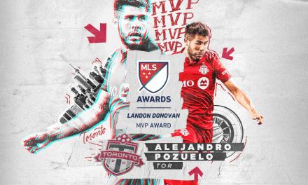 THE BEST OF THE BEST: Toronto FC's Pozuelo named MLS MVP