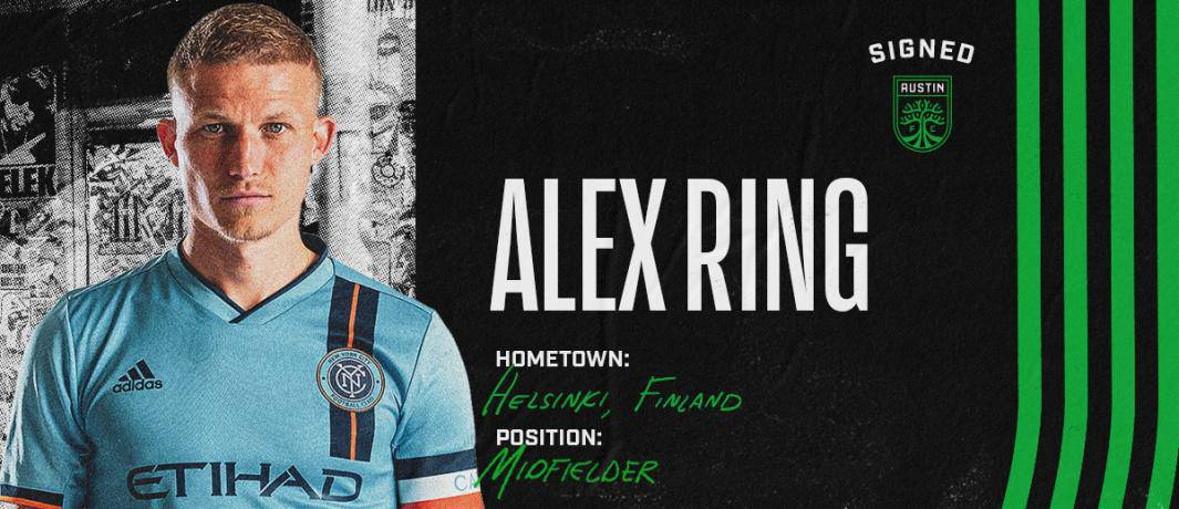 BLOCKBUSTER TRADE: NYCFC sends Ring to Austin FC for $1.25M in GAM