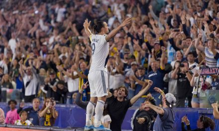 HE'S NO. 1: Ibrahimović voted greatest goal in MLS history