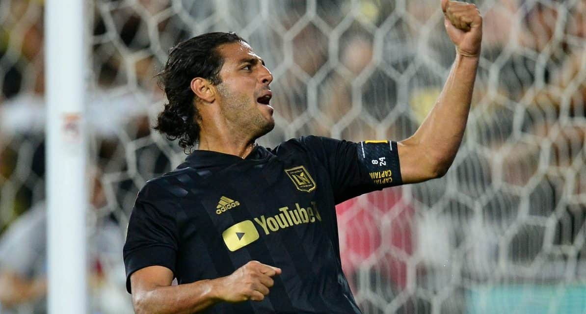 DOWN A MAN, UP A VICTORY: LAFC clubs America, reaches CCL final