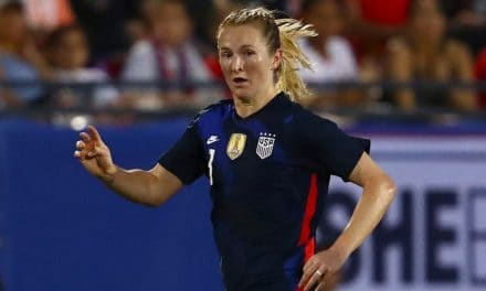 FEMALE PLAYER OF THE YEAR: U.S. Soccer honors for Samantha Mewis