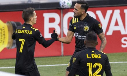 THE BEASTS OF THE EAST: Crew downs Revs, will host MLS Cup