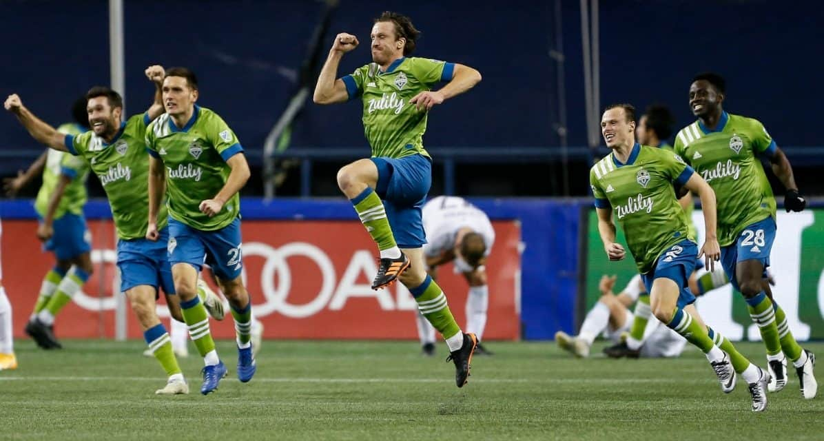CARDIAC COMEBACK: Seattle rallies from 2-goal deficit in final 15 minutes, edges Minnesota, reaches MLS Cup again
