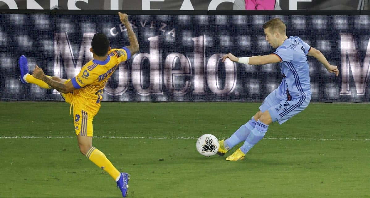 THAT'S ALL FOLKS: NYCFC is shown the exit in the CCL after 4-0 loss to Tigres