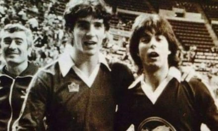 SOCCER'S ITALIAN STALLION: When World Cup hero Paolo Rossi played with the indoor Buffalo Stallions