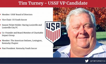 THROWING HIS HAT INTO THE RING: US Youth Soccer vice chair Turney runs for U.S. Soccer VP
