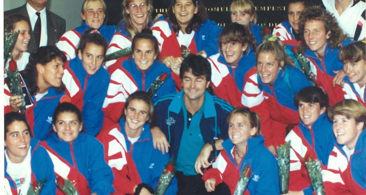 MUTED RECEPTION: When the 1991 USWNT returned home as champions