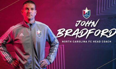 THE SUCCESSOR: Bradford replaces Sarachan as North Carolina FC coach