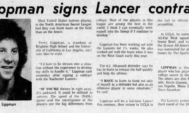 GOODBYE, TERRY: Former Lancer Lippman passes away after battling ALS