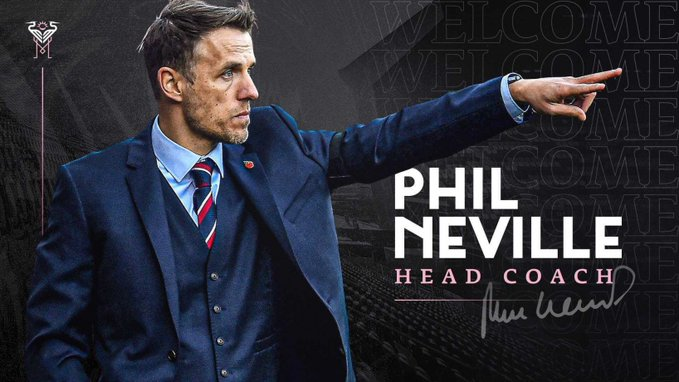 NEW MANAGEMENT TEAM: Inter Miami names Neville coach, Henderson sporting director