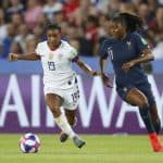 ADMIRING FROM AFAR: Dunn likes French team's diversity