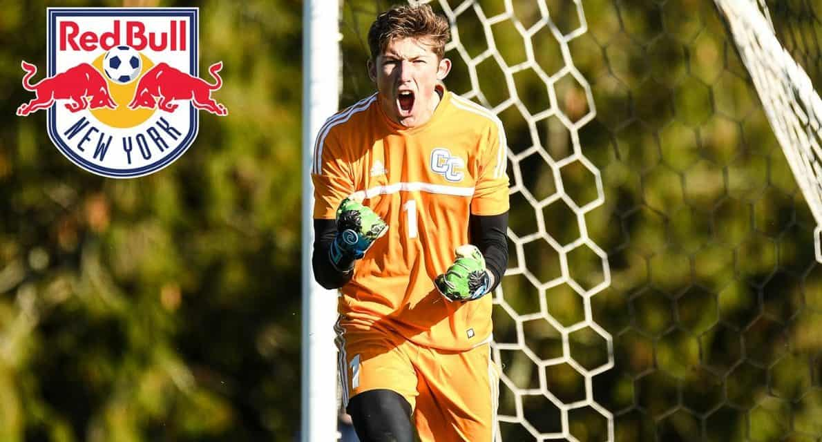 D-3 DOESN'T MEAN THIRD CLASS: Red Bulls draftee Marcucci makes history and is ready to set an example