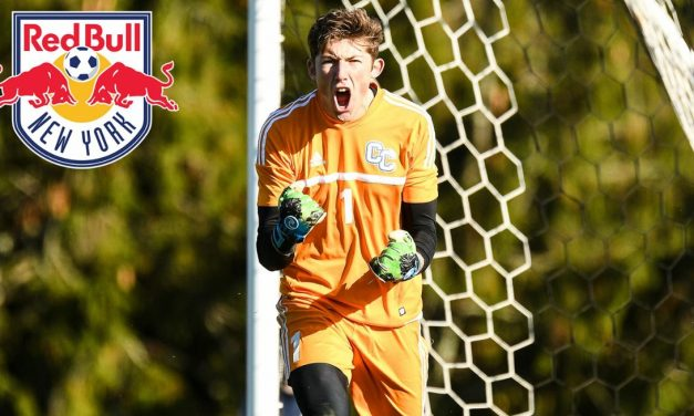A RARE FIND: Red Bulls tab Division III goalkeeper in draft