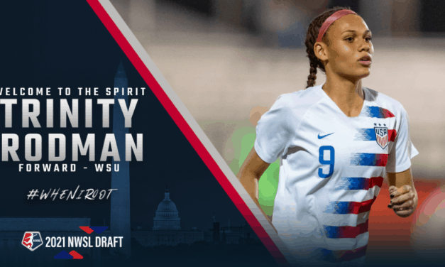 SAME NAME, DIFFERENT SPORT: Spirit draft Trinity Rodman, daughter of former NBA star Dennis