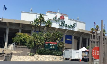 OFFSIDE REMARKS: Some Rose Bowl memories of another type of football