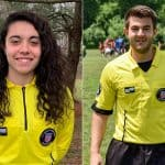 FOR A JOB WELL DONE: Brandon, Trombetta named NJYS youth referees of the year