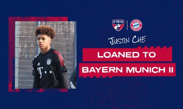 EURO BOUND: FC Dallas loans defender Che to Bayern Munich II
