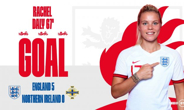 FINDING THE NET: Daly scores for England in rout of Northern Ireland