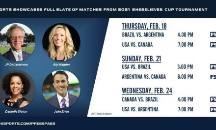 THE STUDIO LINEUP: FOX's announcing team for SheBelieves Cup