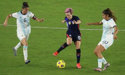 GOING FOURTH: Rapinoe leads USWNT to 6-0 win past Argentina, to 4th SheBelieves Cup title