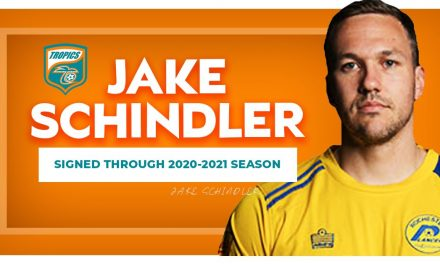 JUST FOR THIS YEAR: Lancers' Schindler to play rest of MASL season with Tropics