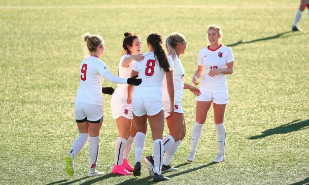 STARTING OFF WITH A BANG: St. John's women roll to 6-1 win in season opener