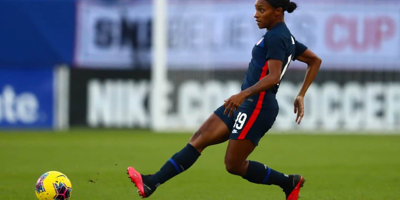 BLACK HISTORY MONTH (Day 16): Dunn is ready to become a face of women's soccer (2021)