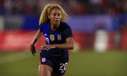 LATE CALL-UP: Krueger replaces Cook in USWNT camp